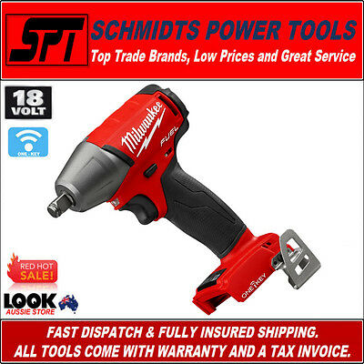 "Milwaukee M18 18V Fuel One-Key Brushless 1/2"" Impact Wrench M18Oneiwf12-0 Bare"