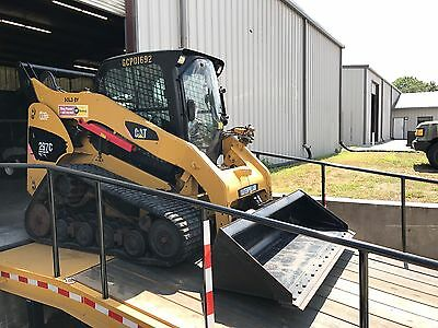 2011 Caterpillar 297C High Flow Tracked Skid Steer Loader w/ Cab!
