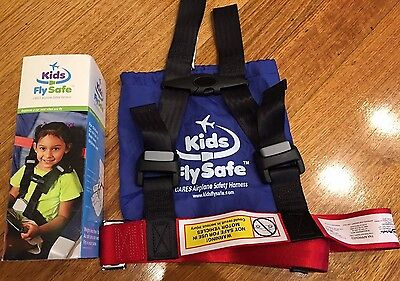 Kids Fly Safe CARES Airplane Safety Harness for Child / Toddler / Infant