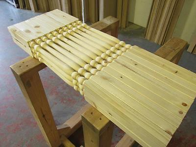 Solid Pine Pack of 30 Colonial 32mm Stair Spindles Seconds Grade 2