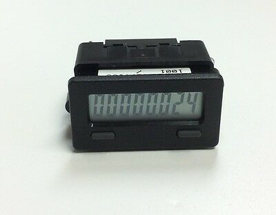 Red Lion CUB7T100 Counter 8 Digital Timer Counter Hour Meter *Battery Included*
