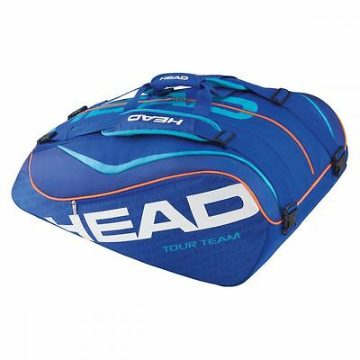 Head Tour Team 12R Monstercombi Tennistasche blau 2016