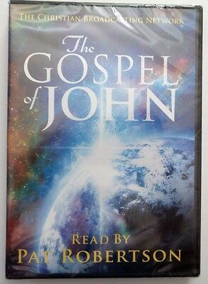 The Gospel Of John by Pat Robertson (DVD) Usually ships within 12 hours!!!