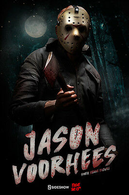SIDESHOW - FRIDAY THE 13th - JASON VOORHEES - SIXTH SCALE FIGUR - NEU
