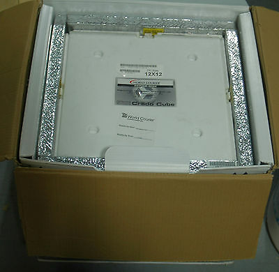 """28L Credo Cube Thermal Packing Solutions Reusable Iceless Container 20M 12""""x12"""""""