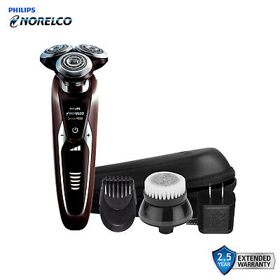 Philips Norelco 9000 Series 9300 Shaver S9321 + SH90 Kit + Travel Case (No Box)