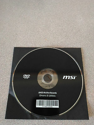 """NEW""  MSI X370 GAMING PRO Motherboard Drivers Installation DVD"