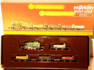 Marklin  Z: 8138 Provincial Railroad Coal Train  w. Steamloco