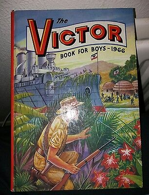 The Victor Book For Boys 1966