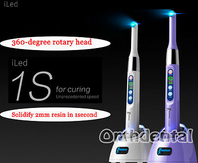 Dental Woodpecker iLED Wireless Curing Light Lamp one second Curing 2500mw/c㎡
