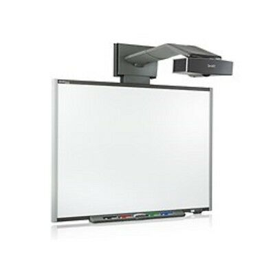 "Smart Board SB680 77"" INTERACTIVE WHITEBOARD + UF55 SHORT THROW PROJECTOR"