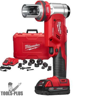 "Milwaukee 2677-21 M18 FORCE LOGIC 6T Knockout Tool 1/2"" - 2"" Kit New"