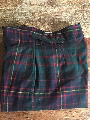 Vintage Scottish Tartan Military Trews Trousers Size 30 3