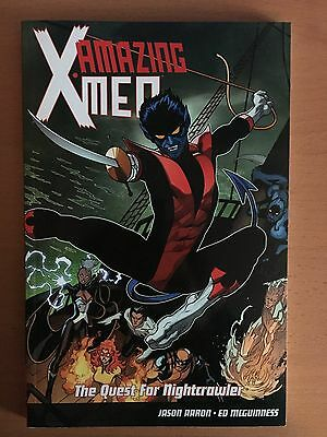 Amazing X-Men: The Quest for Nightcrawler Marvel Comics Graphic Novel