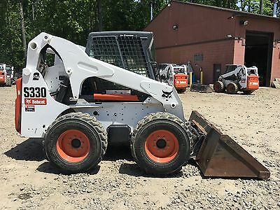 2010 Bobcat S330 Skid Steer HIGH FLOW