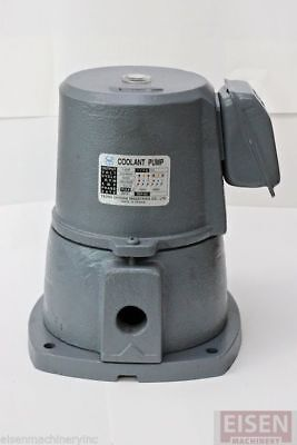 "1/4 HP Cast Iron Suction-Type Coolant Pump, 220V/440V, 3PH, 1/2"" NPT outlet"
