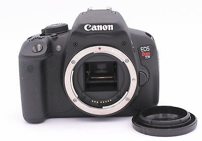Canon EOS Rebel T5i / EOS 700D 18.0 MP Digital SLR Camera - Black (Body Only)