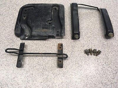 1992 Mitsubishi 3000gt Battery Tray Assembly And Secure Brace With Bolts