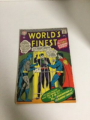 Worlds Finest Vg- Very Good- 3.5 Dc Comics Silver Age