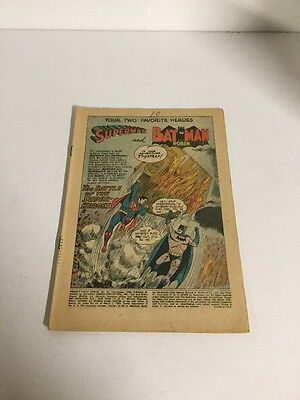 Worlds Finest 95 Coverless Dc Comics Silver Age
