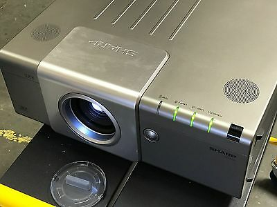 Sharp Xg-p610x  LCD Projector (6,000 lumens) Factory Refurbished with spare bulb