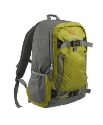 bb21f696165 Outdoor Life Vector 30 Hiking Backpack With Padded Laptop Pocket-GREEN-NWT