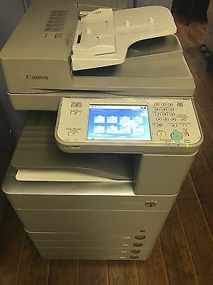 Canon IR ADVANCE C5235 COPY, PRINT, COLOR SCAN, 4 TRAY, LOW COLOR METER