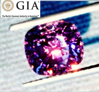 Investment grade GIA Certified 8.41ct  COLOR CHANGE NATURAL MAHENGE SPINEL