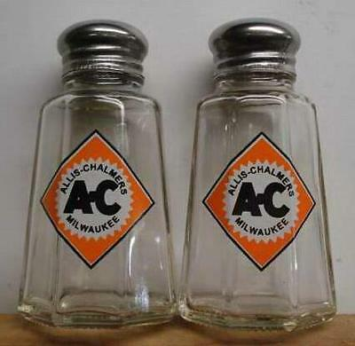 A Charming Allis Chalmers Salt and Pepper Shakers