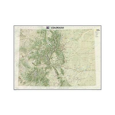 Colorado, Laminated: Wall Maps U.S. by National Geographic Maps (Sheet map,...
