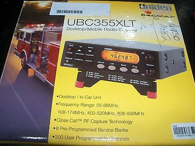 Uniden Ubc355Xlt Desktop 300 Ch Bearcat Scanner  Cfa Fire Analogue Police