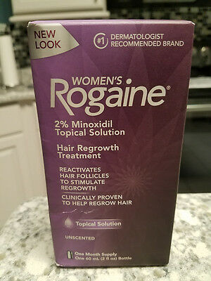 Rogaine Foam Women 1 One Month Supply Topical Solution Hair Regrowth Treatment