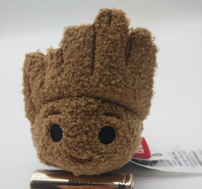 "NEW 2017 Disney Store Tsum Tsum Guardians of the Galaxy Groot 3.5"" Plush DOLL"
