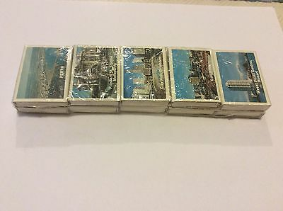 Vintage 10 Pack Box Of Matches All Australian States Still In Rapper