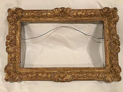 Newcomb Macklin Style Gold Gilded Arts & Crafts Style Picture Frame