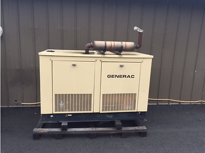 35KW Natural Gas Generac Generator Set with Enclosure