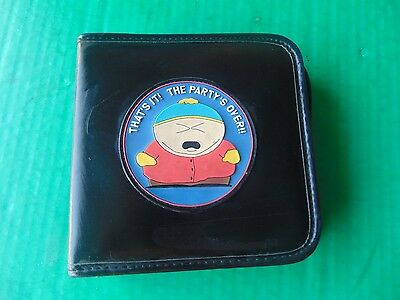 24 CD DVD CASE BINDER South Park Comedy Central Wallet THATS IT THE PARTY'S OVER