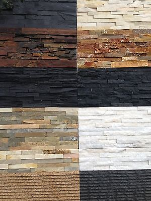Natural Stackstone Wall Cladding Tiles in Various Colours From $58 Per m2