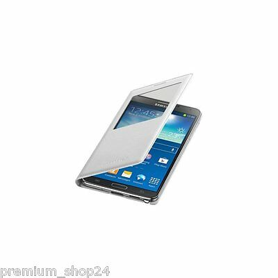Samsung Cover S-View EF-CN900BW Case For Galaxy Note 3 III N9006 9005 Case white