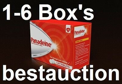 1-6 Box GSK Panadeine Rapid releif for Headache, Fever, Cold & Toothache 120-720