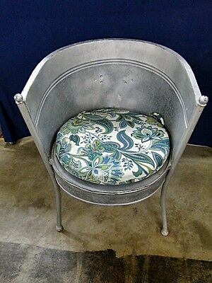 Very Unusual and Unique Wash Tub Chair with Lot 98