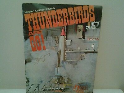 Gerry Andersons thunderbirds are go tv century 21 special  photo book 1966 rare