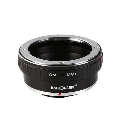 Metal OM-M4/3 Lens Adapter Ring for Olympus OM Lens To Micro M4/3 Mount Cameras