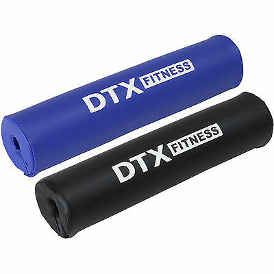 DTX Fitness Foam Weight Lifting Bar Pad/Rest/Cushion/Padded Cover Barbell/Gym