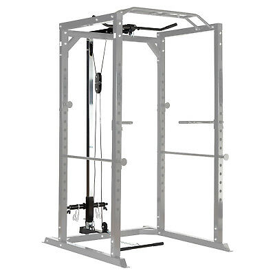 Mirafit Cable Upgrade Kit for 350kg Heavy Duty Power Cage Lat Pull Down/Row/Curl