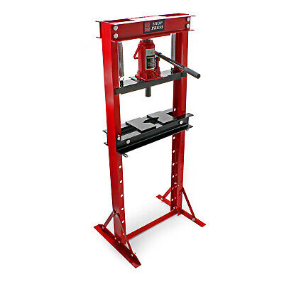 Industrial Hydraulic Workshop Bench Press 12t Pressure Shop Garage Floor