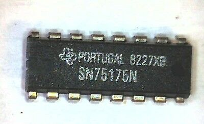 Sn75175N Quadruple Differential Line Receiver Dip-16