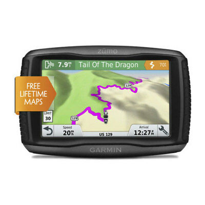 Garmin Zumo 595LM Motorcycle Adventure Touring GPS Sat Nav