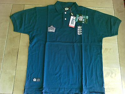 England Admiral Classic Cricket Polo - Union Blue - Size Medium