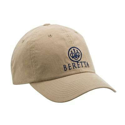 Beretta Hunters Tan Sanded Baseball Cap One Size Fits All With Logo Hunting Hat